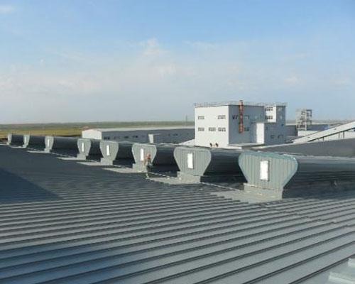 大唐国际高要金淘天然气热电冷联产屋顶通风器项目