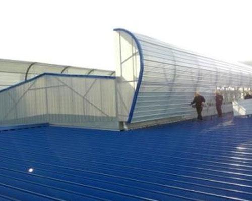 宁夏电投西夏热电厂二期2×350MW热电联产通风天窗工程