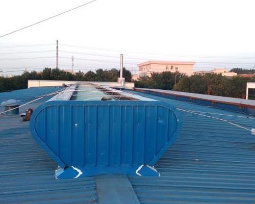 屋顶通风器施工案例